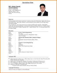 Free Curriculum Vitae Blank Template Vitae Resume Resume For Your Job Application