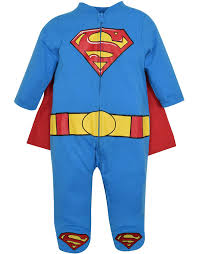 0 3 month baby boy halloween costumes amazon com superman footed costume coverall with cape blue clothing