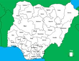 Map Of Nigerian States by States In Nigeria Their Year And Former Names They Are Called