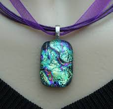 blue glass pendant necklace images 170 best fused glass jewelry for sale images fused jpg