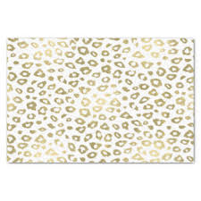 cheetah print tissue paper leopard print craft tissue paper zazzle
