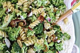 broccoli salad with pasta recipe today s creative