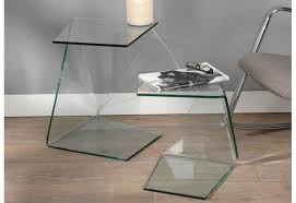 bout de canap en verre table en verre but meilleur table bout de canape great table bout de