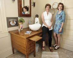 Repurposed Bathroom Vanity by Diy Dresser To Sink Vanity Desk To Sink Diy Furniture Cheap