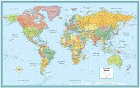 g map world rolled map m series world wall maps robert g enzel rand