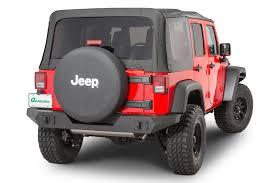 rugged ridge 11548 20 spartan rear full width bumper for 07 18