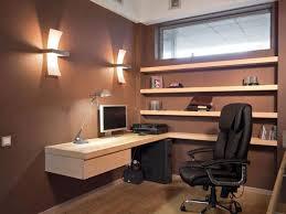 Home Design Lighting Desk L | office floating desk decorating design for home office delightful
