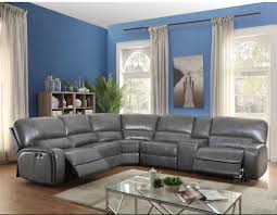 Leather Sofa With Studs by Gray Sectional Couch You U0027ll Love Wayfair