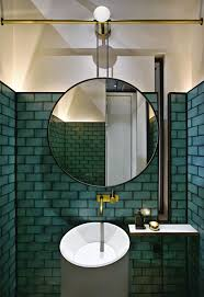 Mirrors Bathroom Scene by Gia Restaurant And Whisky Bar In Jakarta By Hecker Guthrie Vogue