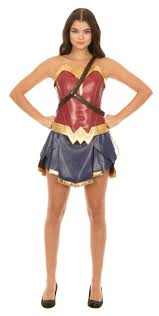 Starsky And Hutch Costume Dc Comics Wonder Woman Warrior Corset And Skirt Costume Set