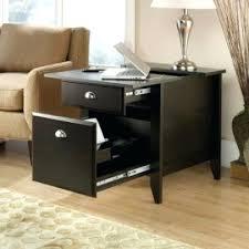 Diy Laptop Desk End Table With Charging Station Appealing For Home Design Diy