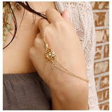 bracelet hand chain images Gold hand chain bracelet impact galerie shop jpg