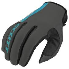motocross glove motocross gloves scott 350 dirt mxvi blue gray insportline