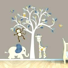Tree Wall Decor For Nursery Kid Wall Decor Nursery Decals For Walls Kid Room Wall Decals Wall