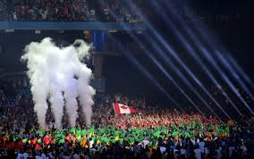Canada Flag Bearer 2015 Pan American Games Opening Ceremonies Photo Gallery