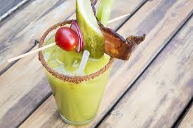 green drink drink this green bloody mary at kitty o u0027shea u0027s chicago tribune