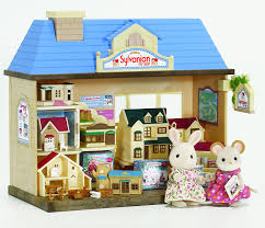 sylvanian families garden set sylvanian families the sylvanian toy shop figures not included