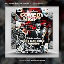 comedy show flyer template comedy show flyer template flyer