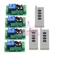 outdoor remote light switch dc 12v 10a 1ch wireless remote control switch 4 channel outdoor