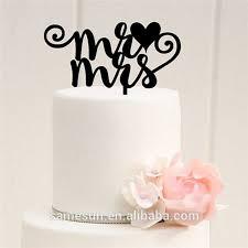 wedding cake name custom name mr mrs stand acrylic sweet heart wedding cake topper