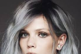 how to blend in gray roots of black hair with highlights 15 surprisingly gorgeous ways to rock colorful roots