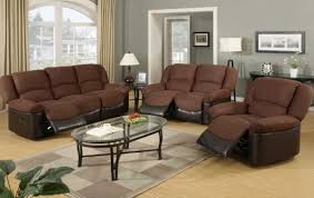 fantastic sofa bed living room sets using brown recliner sofas