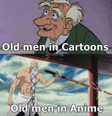 Old Asian Guy Meme - old men in anime anime manga know your meme