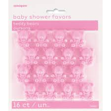 girl baby shower favors plastic pink teddy baby shower favors girl baby shower favors