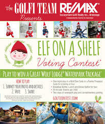 Great Wolf Lodge Map Play Our Elf On A Shelf Voting Contest From Nov 16 To Dec 24th