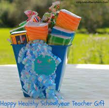 Teacher Gift Basket Back To Teacher Gift Basket Craft Simply Southern Mom