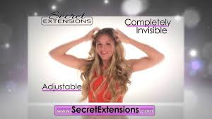 ds hair extensions how to use secret extensions
