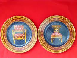 keepsake plates 2 2 vintage gucci chair porcellana porcelain collector s