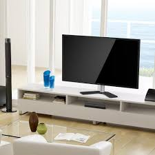 Tv Stands For Flat Screen Tvs Fitueyes Height Adjustable Universal Tv Stand Base Swivel Tabletop