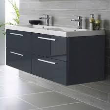 hudson reed vanguard wall mounted bathroom vanity unit and basin 920mm