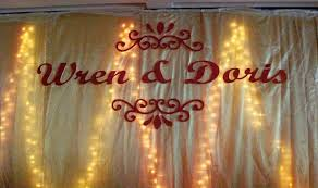 diy wedding backdrop names list of wedding decorators and reviews