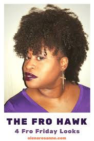 natural styles that you can wear in the winter the fro hawk 1 of 4 natural hair styles you can wear on the next
