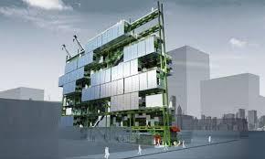 building concept 3d architecture prefab residential building concept by raw design