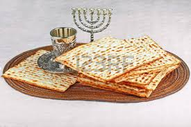 unleavened bread for passover closeup of matzah on plate which is the unleavened bread served