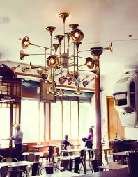 enlightened meals lighting fixtures in restaurant decor