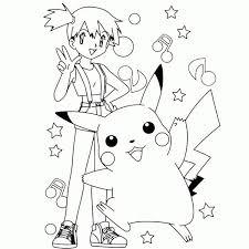 free printable pikachu coloring pages kids 499 pokemon