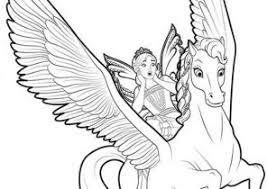 coloring pages of unicorns and fairies unicorn coloring pages coloring4free com