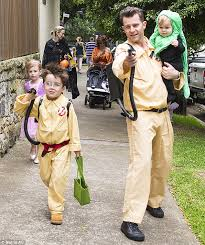 Kids Ghostbusters Halloween Costume David Campbell Family Dress Ghostbusters Garbs