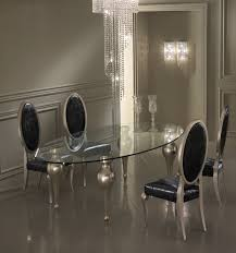 Silver Dining Table And Chairs Black And Silver Dining Room Set Pleasing Decoration Ideas
