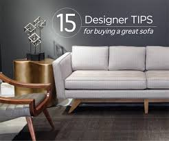 Buying A Couch 15 Designer Tips For Buying A Sofa Mcelherans Fine Furniture