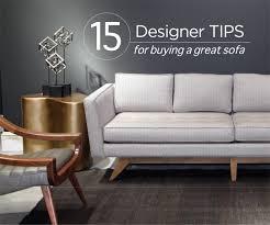 15 designer tips for buying a sofa mcelherans fine furniture