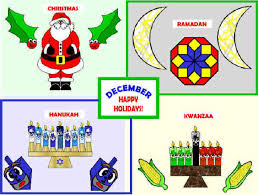 december multi cultural holidays bulletin board projects
