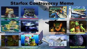 Star Fox Meme - star fox controversy meme by seville spain on deviantart