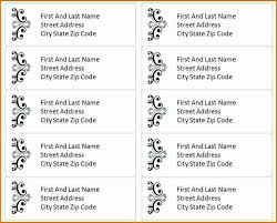mailing labels template shipping label template templates for