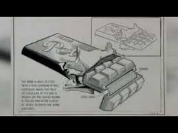 drawings of wwii exploding chocolate bar bombs discovered youtube