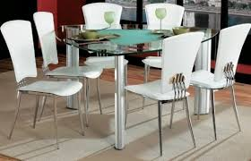 triangle dining room table furniture modern dining space with triangle glass dining table